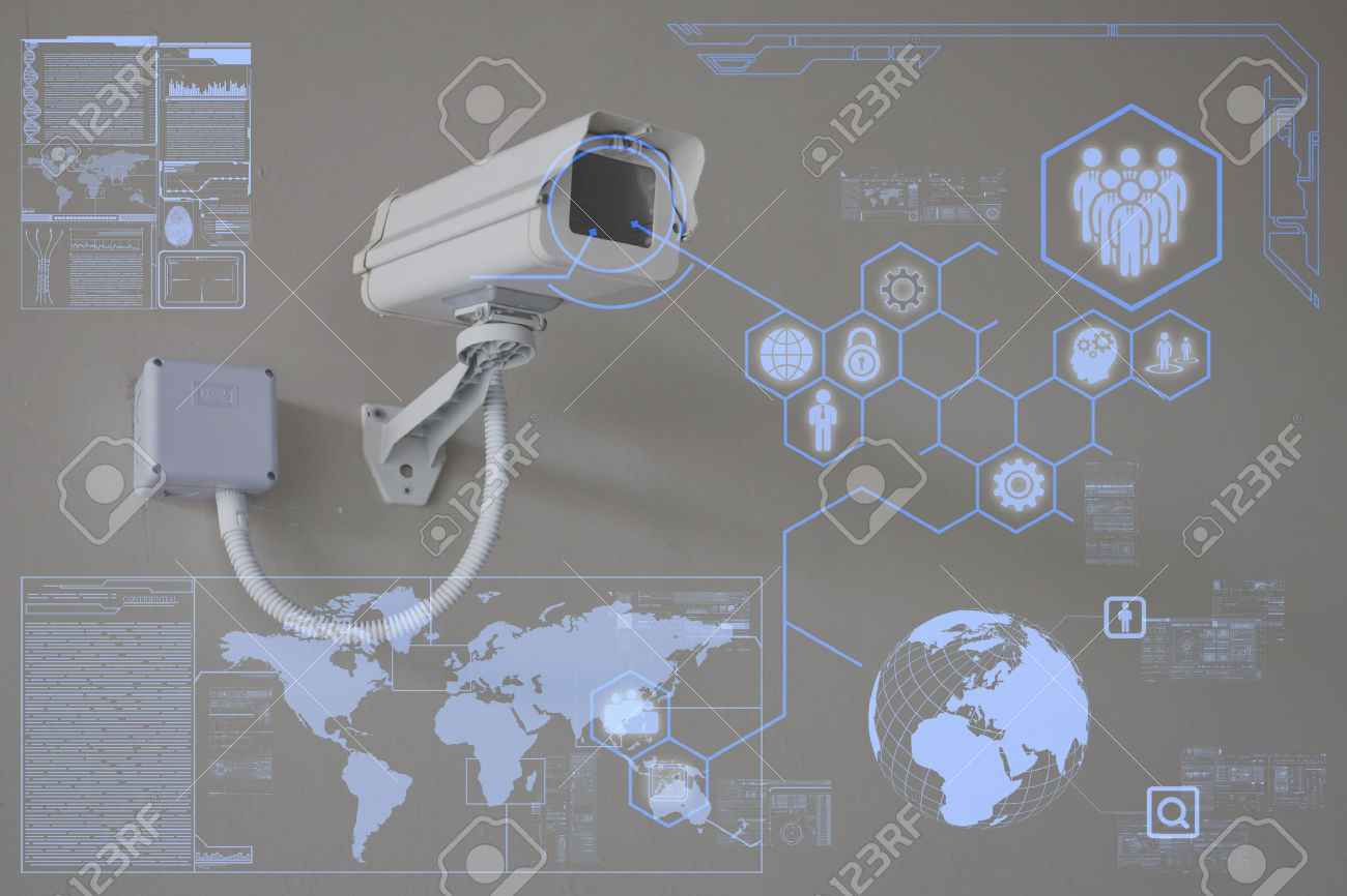 33196829-CCTV-Camera-or-surveillance-technology-on-screen-display-Stock-Photo