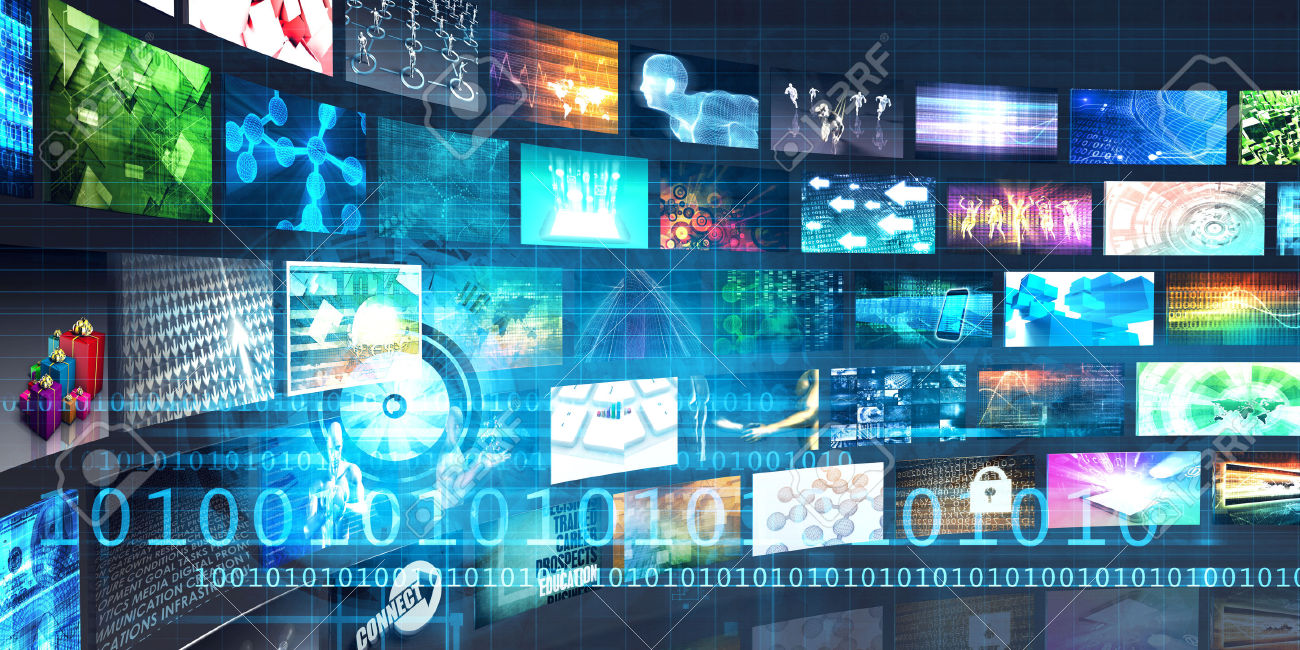 46725945-Digital-Multimedia-Entertainment-and-Internet-Business-Concept-Stock-Photo